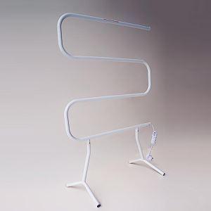 自立式タオルウォーマー タオルヒーター タオルハンガー+簡易乾燥 #304ステンレス鋼 塗装 40W