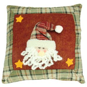 クリスマスクッションカバー サンタクロース 雪だるま クリスマスインテリア雑貨