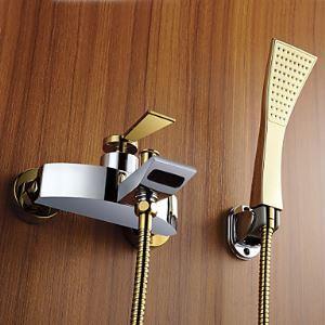 シャワー水栓 バス蛇口 ハンドシャワー 混合水栓 蛇口付き 水栓金具 風呂用 FT4363