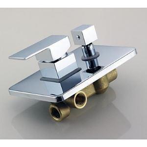蛇口スイッチ 混合水栓スイッチ 蛇口アクセサリー 水道器具 クロム