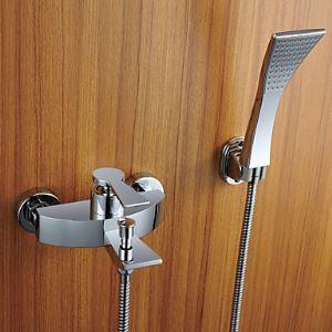 シャワー水栓 バス蛇口 ハンドシャワー 水栓金具 蛇口付き 混合水栓 風呂用 FT4356