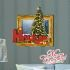 3Dウォールステッカー クリスマスシリーズ 転写式ステッカー 立体DIY PVCシール シート クリスマスツリー柄 WS3D266