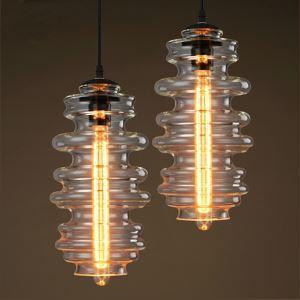ペンダントライト ガラス製照明 天井照明 インテリア照明器具 1灯