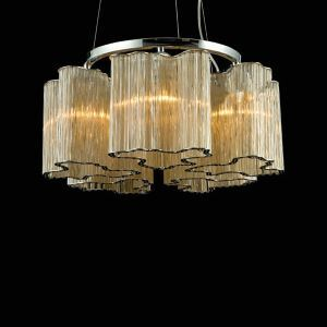シャンデリア インテリア照明 リビング照明 照明器具 天井照明 5灯