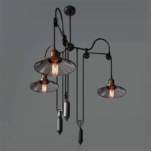 ペンダントライト 工業照明 天井照明 照明器具 北欧風照明 ビンテージ 3灯