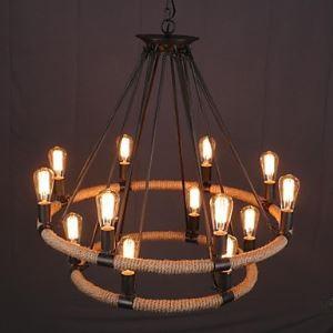 ペンダントライト 天井照明 北欧照明 店舗照明 ビンテージ 14灯