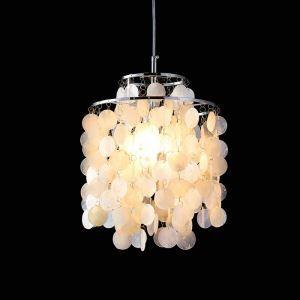 ペンダントライト 天井照明 照明器具 玄関照明 シェル オシャレ 1灯 D26cm