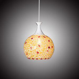 ステンドグラス照明器具 ペンダントライト 天井照明 ティファニーライト 1灯 10321001
