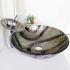 洗面ボウル&蛇口セット 洗面台 洗面器 手洗器 手洗い鉢 洗面ボール 排水金具付 芸術的 円形 SFS671