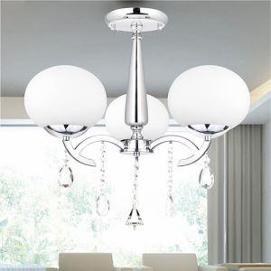 シャンデリア 照明器具 天井照明 リビング照明 ダイニング照明 店舗照明 クリスタル付 3灯