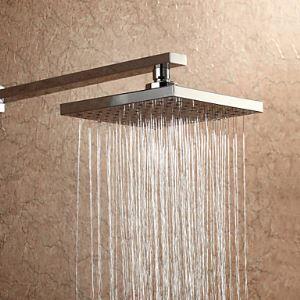 ヘッドシャワー レインシャワー水栓 クロム 20cm