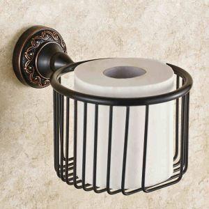 トイレットペーパーホルダー 紙巻器 トイレ用品 ペーパー収納 バスアクセサリー 真鍮製 アンティーク