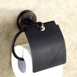 トイレットペーパーホルダー バスアクセサリー 真鍮製 ORB