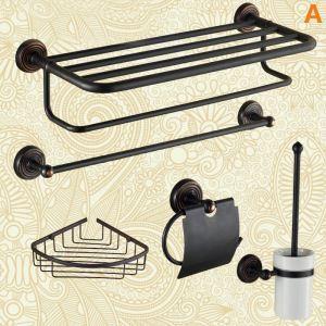 バスアクセサリーセット 浴室用品 真鍮製 ORB 5点/6点セット