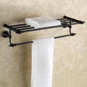 浴室タオルラック タオル掛け タオル収納 壁掛けハンガー ORB バスアクセサリー YWA035