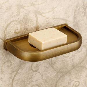 浴室ソープディッシュホルダー バスアクセサリー 真鍮製 アンティーク