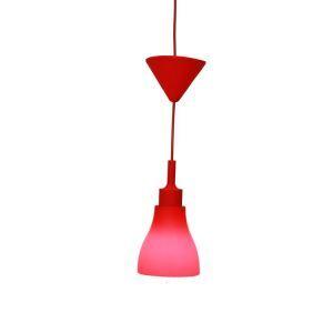 ペンダントライト 天井照明 カラフルな照明器具 シリカゲル製照明