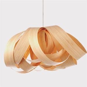 ペンダントライト 照明器具 天井照明 リビング照明 店舗照明 食卓 和室 天然突き板製 和風 1灯 LTB796155