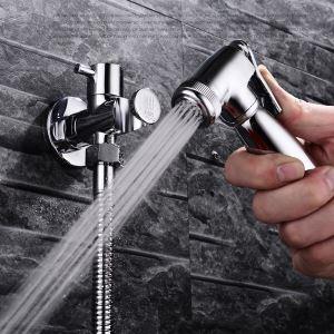 ビデ蛇口 洗浄器用水栓 シャワー蛇口 真鍮製 クロム