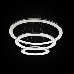 LEDペンダントライト 照明器具 リビング照明 店舗照明 LED対応 40+30+20cm 三環