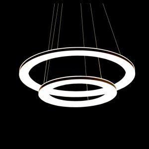 LEDペンダントライト 天井照明 照明器具 リビング照明 オシャレ 二環