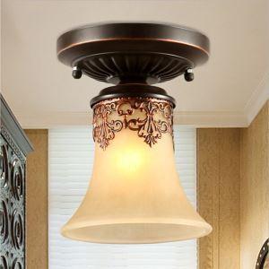 シーリングライト 玄関照明 天井照明 レトロな照明器具 エレガントな照明 1灯