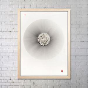実物絵画 インテリア画 アート実物 セラミック フレームなし A 36*48inch FAREAL2401