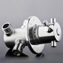 サーモスタット混合水弁 温度調整栓 混合バルブ 冷熱止水栓 温度ダイヤル付
