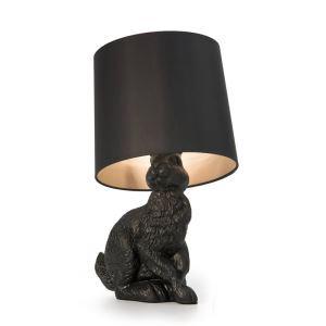 テーブルランプ スタンドライト 間接照明 卓上照明 ウサギ型 黒色 1灯