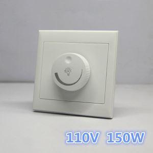 調光器 調光スイッチ ON/OFF LED調光電球に対応 110V Max150W
