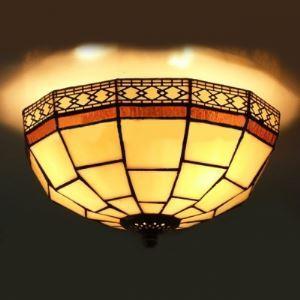 シーリングライト ステンドグラス 天井照明 2灯 BEH403717