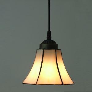 ペンダントライト ステンドグラスランプ 天井照明 玄関照明 欧米風 1灯 BEH4736