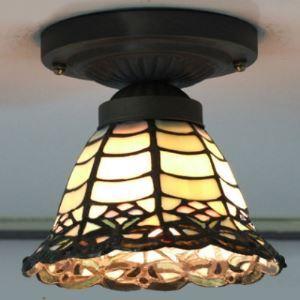 シーリングライト ステンドグラスランプ 天井照明 1灯 BEH403659