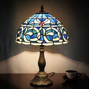 ステンドグラスランプ テーブルランプ ティファニーライト 卓上照明 間接照明 スタンドライト 1灯 BEH399412