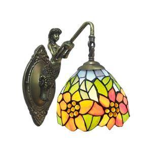 壁掛け照明 ステンドグラスランプ 玄関照明 ブラケット 1灯 BEH275528
