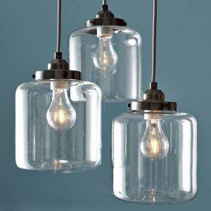 ペンダントライト 照明器具 天井照明 リビング照明 寝室 食卓 店舗 ガラス 3灯