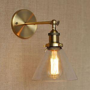 壁掛けライト ブラケット ウォールランプ 玄関照明 階段照明 工業風 北欧風 1灯 LB54328