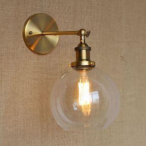 壁掛けライト ブラケット ウォールランプ 玄関照明 階段照明 工業風 北欧風 1灯 LB54329