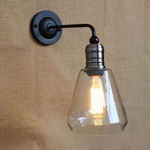 壁掛けライト ブラケット ウォールランプ 玄関照明 階段照明 工業風 北欧風 1灯 LB54327