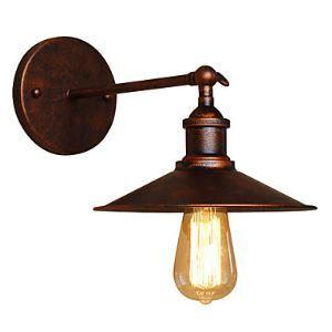 壁掛けライト ブラケット ウォールランプ 玄関照明 階段照明 工業風 北欧風 1灯 LB32612