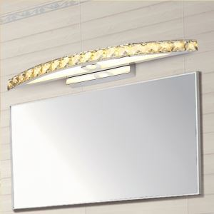 LEDミラーライト 壁掛け照明 ウォールランプ ブラケット クリスタル 54cm/15W LB64107