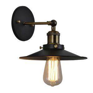 壁掛け照明 ブラケット ウォールランプ 玄関照明 階段照明 180°回転 北欧風 1灯 CYBD001