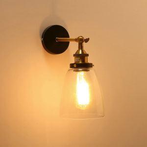 壁掛け照明 ブラケット ウォールランプ 玄関照明 階段照明 北欧 角度調整可能 1灯