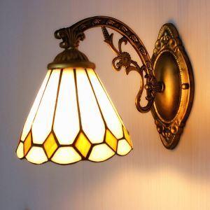 壁掛け照明 ステンドグラスランプ ウォールライト 照明器具 1灯 BEH403782