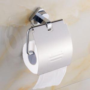 トイレットペーパーホルダー 紙巻器 トイレ用品 浴室収納 真鍮製 オシャレ クロム