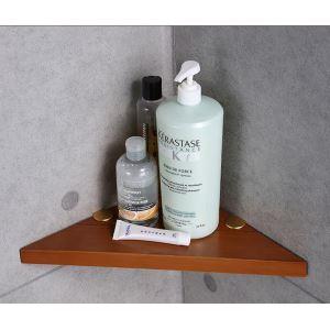 バスアクセサリーセット 浴室収納用品 6点セット 高分子木材製 エコ 北欧風