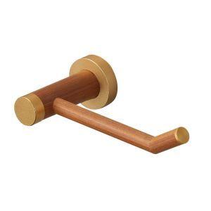 トイレットペーパーホルダー 紙巻器 トイレ用品 浴室収納 高分子木材製 北欧風