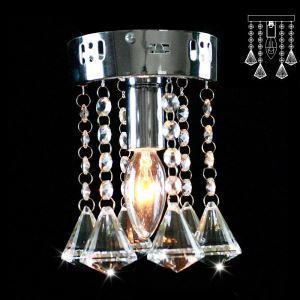 【送料無料】シーリングライト 照明器具 玄関照明 天井照明 オシャレ クリスタル 1灯 HL003