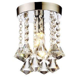 【送料無料】シーリングライト 照明器具 玄関照明 天井照明 オシャレ クリスタル 1灯 HL004