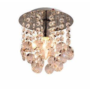 【送料無料】シーリングライト 照明器具 玄関照明 天井照明 オシャレ クリスタル 1灯 HL005